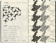 Henri Jacobs - Journal Drawings