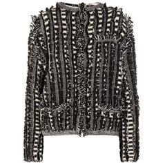 Chloé Fringed wool jacket via Polyvore
