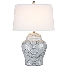 Dimond Lighting Aragon LED Table Lamp in Blue and White Glaze Grey Table Lamps, Table Lamp Shades, Ceramic Table Lamps, Table Lamp Sets, Transitional Table Lamps, Contemporary Table Lamps, Living Room End Tables, Dining Room, Ceramic Light