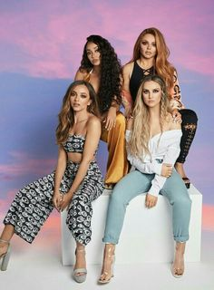Little Mix for their Official 2018 Calendarily