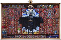 Massive Holy Batman Painting Turns Dark Knight Into Religious Experience | Wired.com