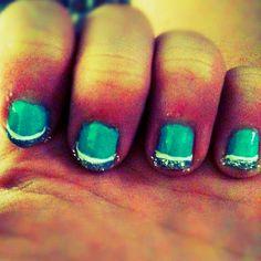 Boredd soo did my nails My Nails, Convenience Store