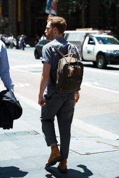 http://chicerman.com  billy-george:  Spotted in Sydney  Photo via Men in this Town  #streetstyleformen