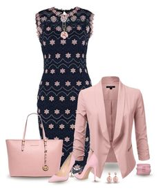 """""""set"""" by vesper1977 ❤ liked on Polyvore featuring MICHAEL Michael Kors, Gianvito Rossi, Bill Blass and 1928"""