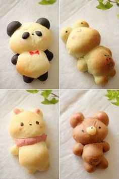 Cute Animal Buns share cute things at www.sharecute.com
