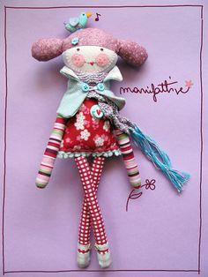 """""""Rimanere bambini per sempre""""  potrebbe essere l'ideale... l'ideale per una come me che trova immenso piacere nel costruire bambole, pu..."""