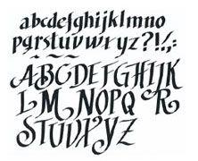 abc's on Pinterest | Embroidery Fonts, Alphabet Fonts and Graffiti Al ...