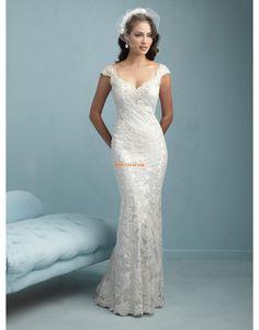 824fb81d9db9 Krajkový vzhled Krajka Elegantní   luxusní Svatební šaty olomouc Šaty Pro  Nevěsty