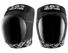 187 Killer Pro Knee Pads - Black / White - Large by 187. $34.95. Features:  * Seamless hinge and interior finish for maximum flexibility & comfort * Open back design for excellent fit and easy on & off