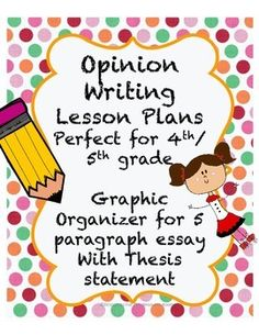 FREE! NO PREP Opinion Writing Lessons!