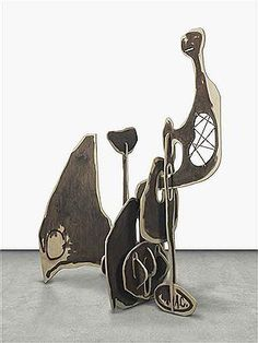 aaron curry artist - Google Search Contemporary Sculpture, Modern Contemporary, Sterling Ruby, 3d Collage, Cubist Art, Heavy Metal Music, Global Art, Mark Making, Abstract Sculpture