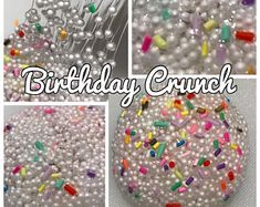 Diy change colors squishy stress ball how to make slime balloons birthday crunch micro floam crunchy slime clear slime base with rainbow polymer clay sprinkles ccuart Image collections