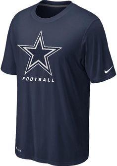 Nike Dallas Cowboys Legend Elite Logo Tee $29.95