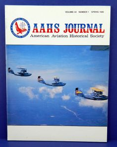 AAHS Journal Spring 1989 American Aviation by QueeniesCollectibles, $8.99