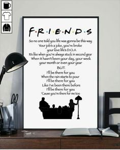 gotta have it Serie Friends, Friends Episodes, Friends Moments, Friends Show, Friends Forever, Best Friends, Audrey Horn, Friends Poster, Friends Theme Song