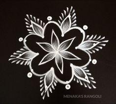 Rangoli Designs Latest, Simple Rangoli Designs Images, Rangoli Designs Flower, Rangoli Border Designs, Rangoli Designs With Dots, Flower Rangoli, Beautiful Rangoli Designs, Latest Rangoli, Simple Rangoli Kolam