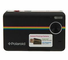 If you know a guy who is a shutterbug, give him the gift of this Polaroid digital camera that prints photos instantly! #QVCgifts