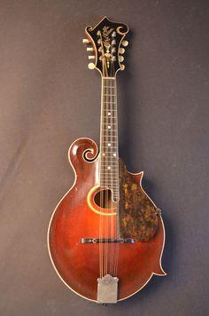 Gibson 1918 F-4 mandolin, red sunburst, from Carter Vintage Guitars