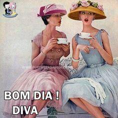 BOM DIA DIVA !!!   #bomdia #goodmorning #retro #diva #coffe #vintage