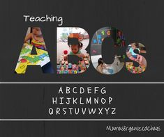 Mama's Organized Chaos: TEACHING THE ALPHABET: years old How we taught our year old to identify all 26 letters in the alphabet in less than 2 months! Alphabet Video, Sing The Alphabet, Alphabet Sounds, Teaching The Alphabet, Alphabet Book, Learning Letters, Infant Activities, Learning Activities, Kids Learning