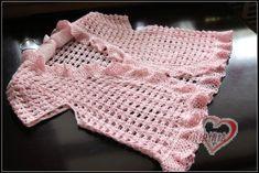 crochet baby bolero and cardigan - crafts ideas - crafts for kids