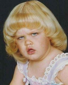 She is NOT feelin' it right now. | 21 Kids Who Shut Down Picture Day