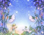 Fairy Art for Girls Room, Fairy Princess, Dream a Little Dream
