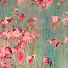 ...abstract art by sonja blaess... petit jardin..2017...
