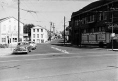 Fluff Dry Laundry on left - Lady Elizabeth Furniture 1957 - Intersection of Wayne Ave - Mad River Street - Eagle Street and Richard Street