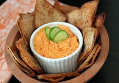 Kopanisti: a Greek dip with whipped feta and roasted red pepper