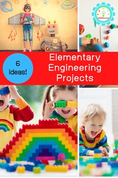 Want to explore engineering with your STEM education? These engineering projects for kids are easy, fun, and don't take long to complete! #engineering #stemactivities #elementary Engineering Projects, Math Projects, Science Fair Projects, Projects For Kids, Science For Toddlers, Science Experiments For Preschoolers, Preschool Science, Easy Science, Toddler Activities
