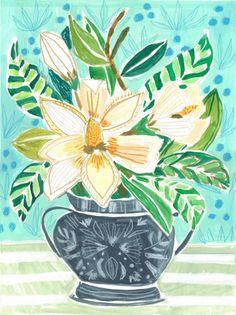 FLOWERS FOR JUNE - PRINT