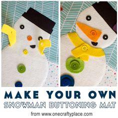 viltbord: sneeuwman