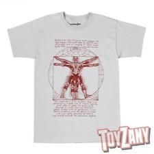 Marvel Comics Vitruvian Spiderman Mens Grey T-Shirt