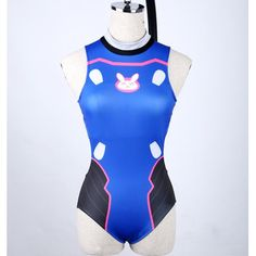"""- Material: made of polyester - Color: Blue - Size reference: Size cover A cup of Height Weight S A-B 155-162CM/5'1""""-5'4"""" 42.5-47.5KG M B-C 162-169CM/5'4""""-5'7"""" 47.5-55KG L C-D 169-175CM/5'7""""-5'9"""" 55-6 - COSPLAY IS BAEEE!!! Tap the pin now to grab yourself some BAE Cosplay leggings and shirts! From super hero fitness leggings, super hero fitness shirts, and so much more that wil make you say YASS"""