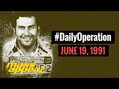 New video Daily Operation: Pablo Escobar Heads to Jail (June on Via Mass Appeal On June the notorious Colombian drug lord Pablo Escobar surrendered himself to the. Pablo Escobar, Colombian Drug Lord, Hip Hop News, June 19, What's Trending, Social Media, Youtube, News, Social Networks