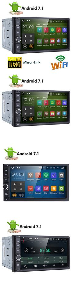 Video In-Dash Units w GPS: Quad Core Android 7.1 4G Wifi 7 Double 2Din Car Radio Stereo No Dvd Player Gps N -> BUY IT NOW ONLY: $88 on eBay!