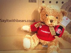 Say it with Bears Supporting for sport relief Personalised Teddy Bears, Sport, Toys, Animals, Personalized Teddy Bears, Activity Toys, Deporte, Animales, Animaux