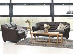 Furn Cornus Couch- & Beistelltisch aus Eichenholz, geölt #Couchtisch #Sofatisch #Lounge #Tisch #Wohnzimmer #Galaxus