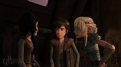 Astrid trying to see if Heather would make a good girlfriend for her friend Hiccup. I know, I'm warped. Please don't flame me! :-(