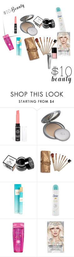 """""""Beauty Kits"""" by mandalinaqitrydewi on Polyvore featuring Post-It, NYX, COVERGIRL, River Island, Dove, L'Oréal Paris, Chanel, Sephora Collection and 10dollarbeauty"""