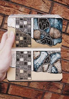 Moleskine 02, #095 Rebecca Blair #journal #sketchbook