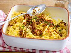 Unser beliebtes Rezept für Klassische Käsespätzle und mehr als 55.000 weitere kostenlose Rezepte auf LECKER.de.