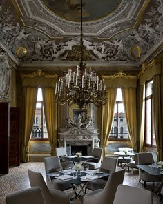 Aman Canale Grande Hotel, Venice, Italy | http://www.yatzer.com/aman-grand-canale-venice #covetlounge @covetlounge #inspiringideas