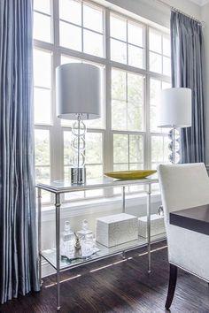 Efter mässing kommer krom – 9 vardagsrum med detaljer i krom – Sköna hem