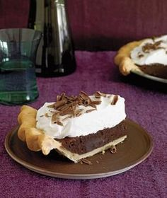 Chocolate Fudge Pie recipe - been looking everywhere for this recipe!