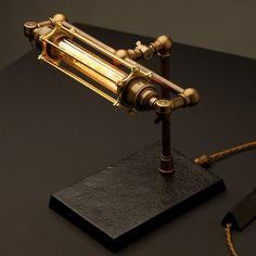 Steampunk banker light
