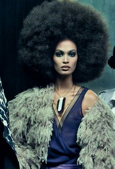 .The true afro! I love it but I would never wear it because its too glamourous!