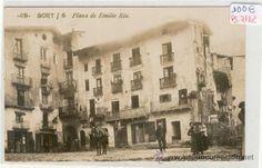 Sort, Plaça d'Emilio Riu