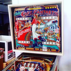 If you are an Elton John fan then this pinball machine looking fabulous in our showroom is just for you.